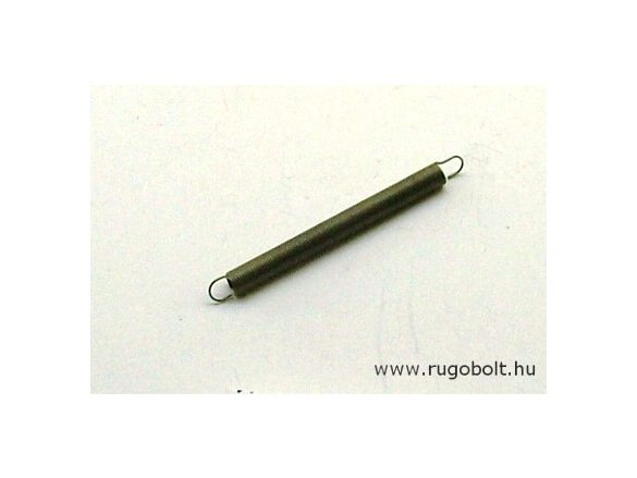 Húzórugó - 0,4x4,0x40 mm - A.46 - natúr - R: 0,056 N/mm - max.elmozdulás: 105 mm