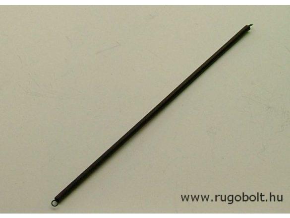 Húzórugó - 0,5x3,2x130 mm - A.140 - rozsdamentes (inox) - R: 0,107 N/mm - max.elmozdulás: 120 mm