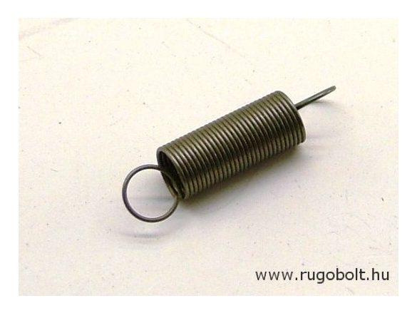 Húzórugó - 0,6x7,4x19 mm - A.32 - natúr - R: 0,135 N/mm - max.elmozdulás: 70 mm