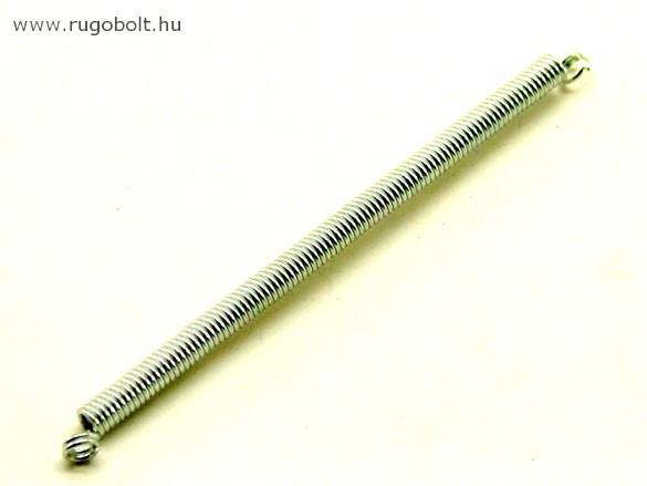 Húzórugó - 0,7x4,0x70 mm - A.76 - horganyzott - R: 0,681 N/mm - max.elmozdulás: 40 mm