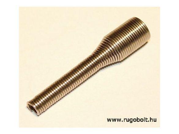 Vezeték törésgátló rugó - 0,7x5,2x42 mm - (fül nélküli) - rozsdamentes (inox)