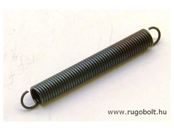 Húzórugó - 0,8x6,0x42 mm - A.50 - natúr - R:0,571 N/mm - max.elmozdulás: 50 mm,  itt az erő 28,5 N