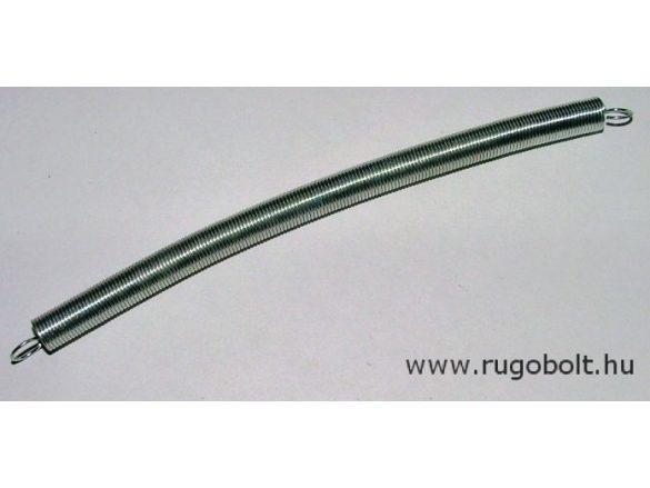 Húzórugó - 0,8x8,0x134 mm - A.148 - horganyzott - R: 0,068 N/mm - max.elmozdulás: 310 mm