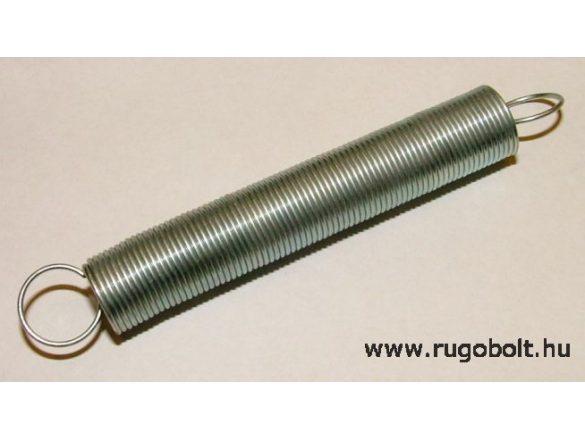 Húzórugó - 0,8x11x60 mm - A.80 - horganyzott - R: 0,052 N/mm - max.elmozdulás: 210 mm