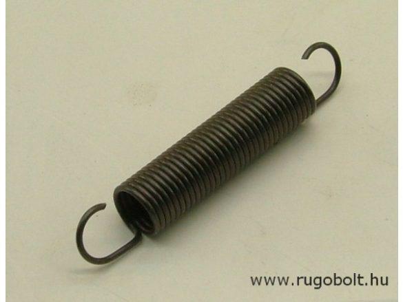 Húzórugó - 0,9x8,0x31 mm - A.46 - natúr - R: 0,584 N/mm - max.elmozdulás: 52 mm, ahol az erő: 31 N