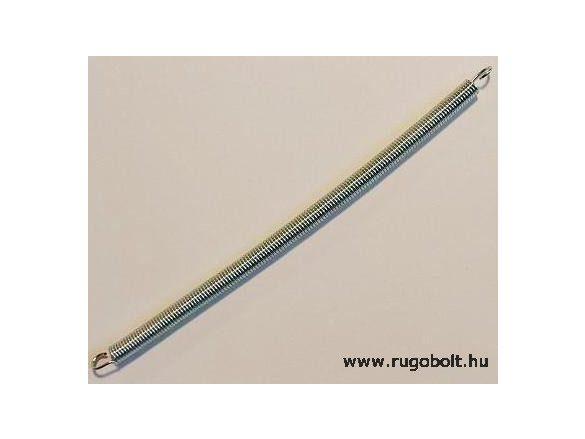 Húzórugó - 1,0x6,0x145 mm - A.158 - horganyzott - R: 0,562 N/mm - max.elmozdulás: 95 mm