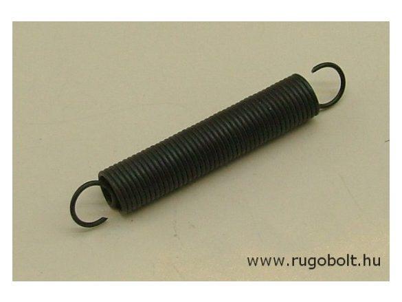 Húzórugó - 1,0x9,5x45 mm - A.61 - natúr - R: 0,369 N/mm - max.elmozdulás: 95 mm, ahol az erő: 35 N