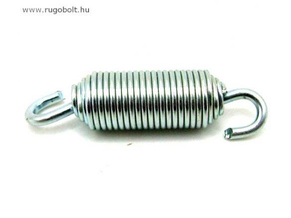 Húzórugó - 1,0x10x26 mm - A.45 - horganyzott (forgófüles)