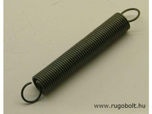 Húzórugó - 1,0x10x54 mm - A.70 - natúr - R: 0259 N/mm - max.elmozdulás: 130 mm