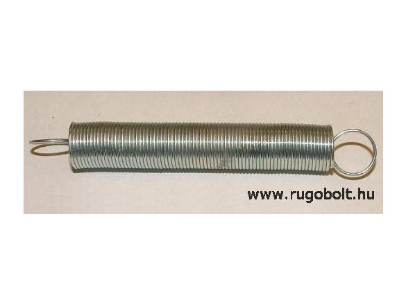 Húzórugó - 1,0x11x110 mm - A.130 - horganyzott -  R: 0,093 N/mm - max.elmozdulás: 330 mm