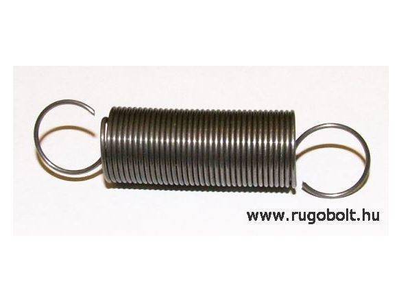 WARTBURG húzórugó - 1,0x15x35 mm - A.63 - natúr - R: 0,106 N/mm - max.elmozdulás: 210 mm