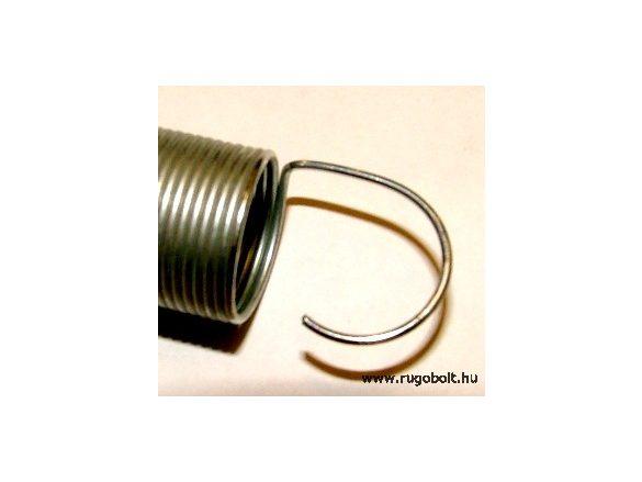 Húzórugó - 1,0x17x175 mm - A.210 - horganyzott - R: 0,014 N/mm - max.elmozdulás: 1400 mm