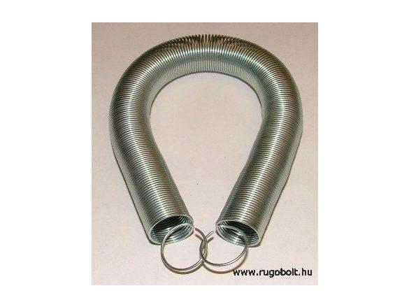 Szúnyogháló ajtó behúzó húzórugó - 1,0x17x210 mm - A.240 - horganyzott - R: 0,012 N/mm - max.elmozdulás: 1700 mm