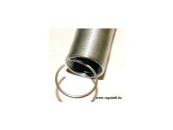 Húzórugó - 1,0x17x210 mm - A.240 - horganyzott - R: 0,012 N/mm - max.elmozdulás: 1700 mm