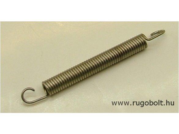 Húzórugó - 1,2x8,0x56 mm - A.78 - rozsdamentes (inox) - R: 1,146 N/mm - max.elmozdulás: 47 mm, ahol az erő: 68,5 N