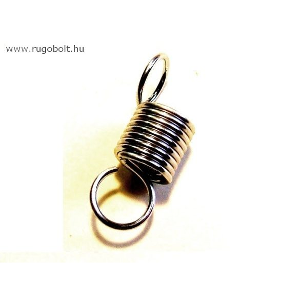 Heverő rugó - 1,2x11x14 mm - A.30 - horganyzott - R: 1,952 N/mm - max.elmozdulás: 25 mm