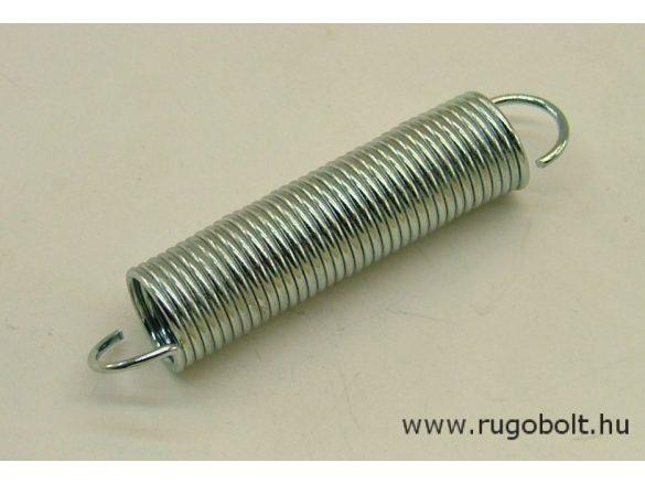 Húzórugó - 1,2x12x45 mm - A.60 - horganyzott - R: 0,466 N/mm - max.elmozdulás: 90 mm