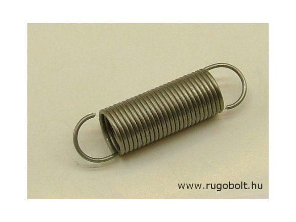 Húzórugó - 1,4x15x36 mm - A.55 - rozsdamentes (inox) - R: 0,622 N/mm - max.elmozdulás: 94 mm, ahol az erő: 58 N