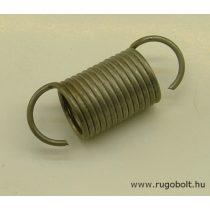 Húzórugó - 1,5x16x23 mm - A.40 - rozsdamentes (inox) - R: 1,128 N/mm - max.elmozdulás: 59 mm, ahol az erő: 66,7 N