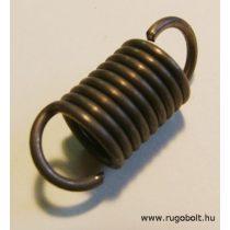 Röpsúly rugó - 1,8x13x16 mm - A.28 - natúr