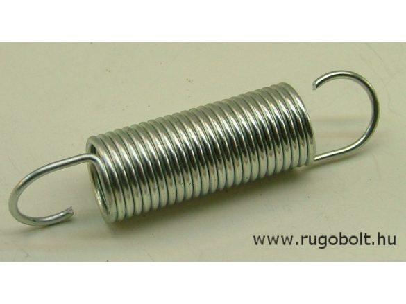 Húzórugó - 2,0x20x48 mm - A.85 - horganyzott - R: N/mm - max.elmozdulás: mm