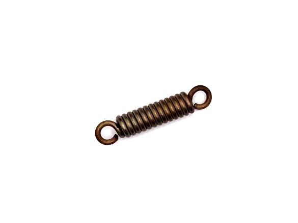 Húzórugó - 2,5x11x36 mm - A.50 - rozsdamentes (inox) - fülek 0 fokban
