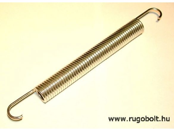 Fűkasza húzórugó - 2,5x18x137 mm - A.200 - horganyzott