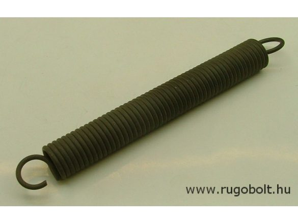 Húzórugó - 3,0x22x155 mm - A.190 - natúr - R: 2,36 N/mm - max.elmozdulás: 140 mm, ahol az erő: 330 N