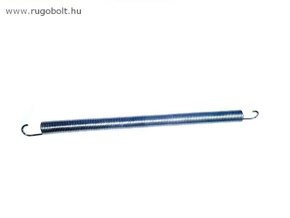 Húzórugó padlásfelhajtóhoz - 3,0x25x390 mm - A.465 - horganyzott - R: 0,596 N/mm - max.elmozdulás 490 mm, ahol az erő:296 N