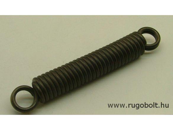Húzórugó - 3,5x21x100 mm - A.135 - natúr - R: 10,188 N/mm - max.elmozdulás: 51 mm, ahol az erő: 527 N