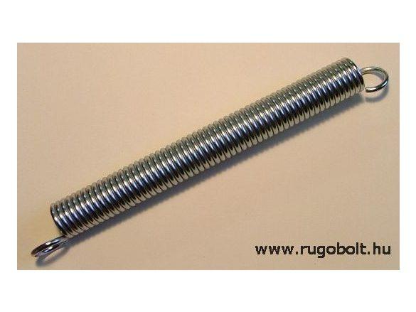 Bútorrugó - 3,5x23x240 mm - A.280 - horganyzott, rugóállandó:3,03 N/mm, max.elmozdulás:160 mm, itt az erő:486 mm
