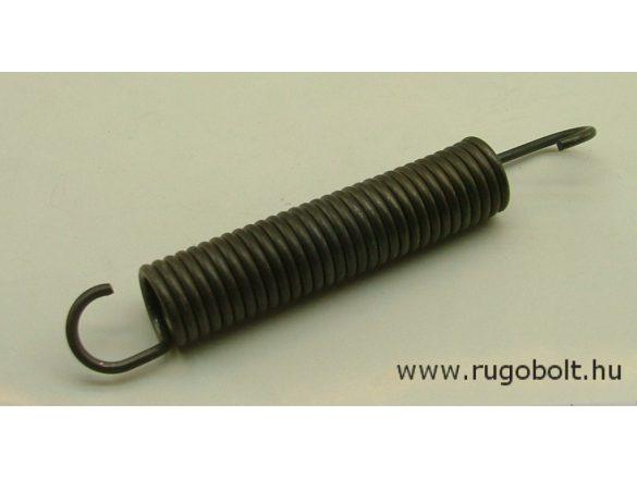 Húzórugó - 3,5x25x112 mm - A.169 - natúr - R: 4,8 N/mm - max.elmozdulás: 93 mm, ahol az erő: 451 N