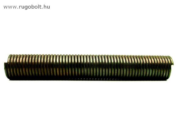 Húzórugó - 3,5x30x200 mm - A.200 natúr (fül nélkül)