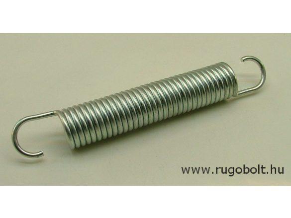 Húzórugó - 4,0x30x135 mm - A.200 - horganyzott - R: 4,5 N/mm - max.elmozdulás: 121 mm, ahol az erő: 548 N