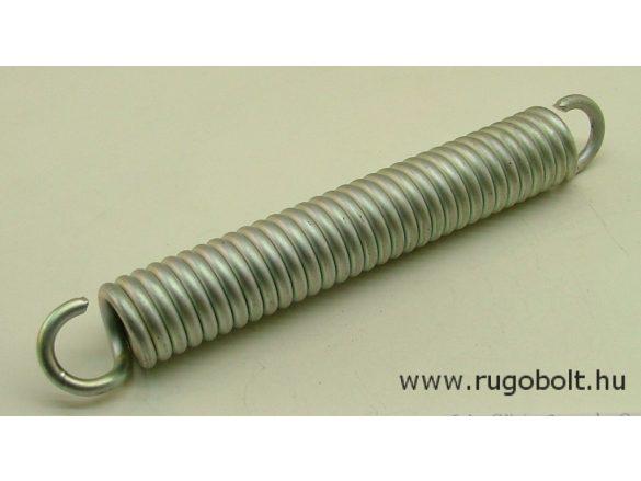 Húzórugó - 5,0x28x165 mm - A.200 - horganyzott - R: 15,85 N/mm - max.elmozdulás: 66 mm, ahol az erő: 1060 N