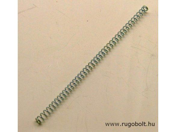 Nyomórugó - 0,6x4,0x100 mm - menetszám: 1+40+1 - horganyzott