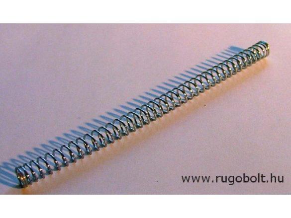 Nyomórugó - 0,6x6,0x101 mm - menetszám: 1+40+1 natúr