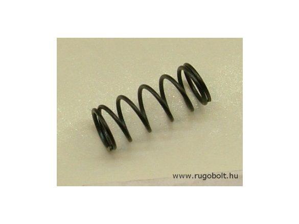 Nyomórugó - 0,6x6,3x15 mm - menetszám: 1+5+1 - natúr