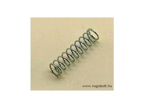 Nyomórugó - 0,6x6,5x26 mm - menetszám: 1+9+1 - horganyzott