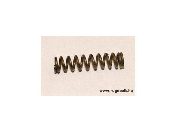 Nyomórugó - 0,8x4,9x21 mm - menetszám: 1+9+1 - natúr