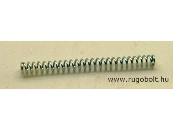 Nyomórugó - 0,8x5,0x60 mm - menetszám: 1+23+1 - horganyzott