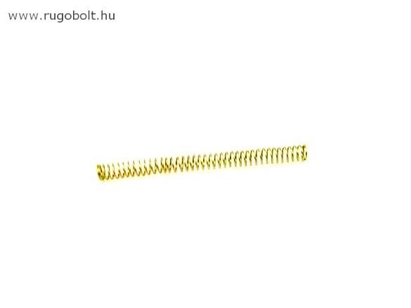 Nyomórugó - 0,8x7,6x100 mm - menetszám: 1+39+1 - horganyzott