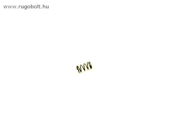Nyomórugó - 0,8x8,0x34 mm - menetszám: 1+12+1 - horganyzott