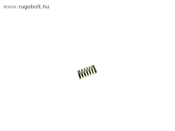 Nyomórugó - 0,8x9,0x13 mm - menetszám: 1+2,5+1 - natúr