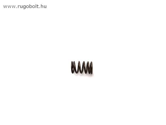Nyomórugó - 1,0x8,0x13 mm - menetszám: 1+4+1 - natúr