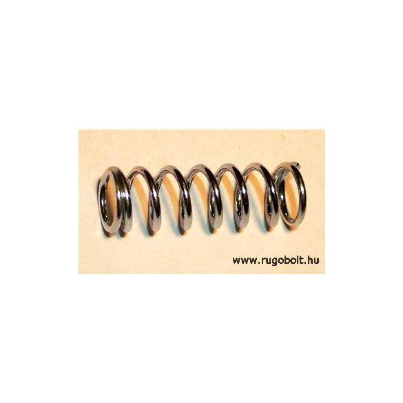 Nyomórugó - 1,0x8,0x25 mm - menetszám: 1+6+1 - horganyzott