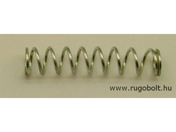 Nyomórugó - 1,0x8,0x40 mm - menetszám: 1+8+1 - natúr