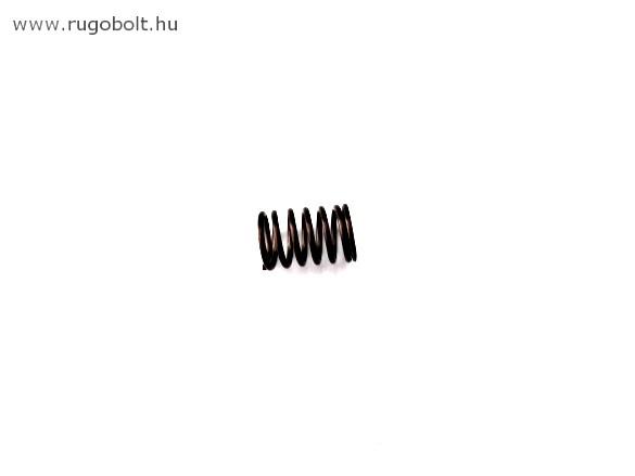 Nyomórugó - 1,0x9,5x14 mm - menetszám: 1+5+1 - natúr