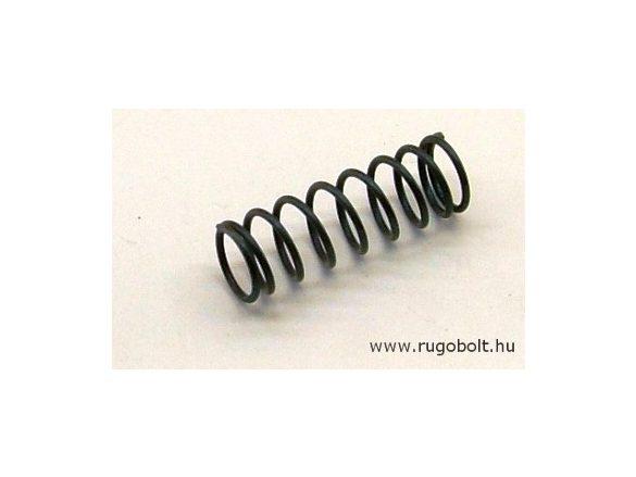 Nyomórugó - 1,0x10x30 mm - menetszám: 1+7+1 - natúr