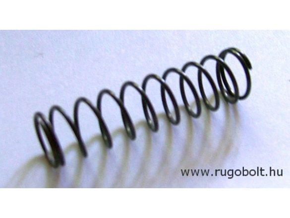 Nyomórugó - 1,0x12x45 mm - menetszám: 1+9+1 - natúr
